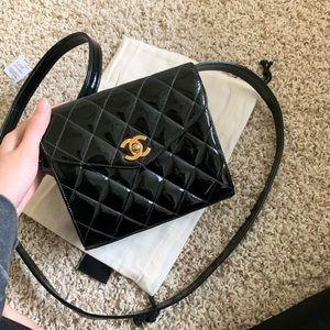 Vintage Chanel Patent Mini Square bag
